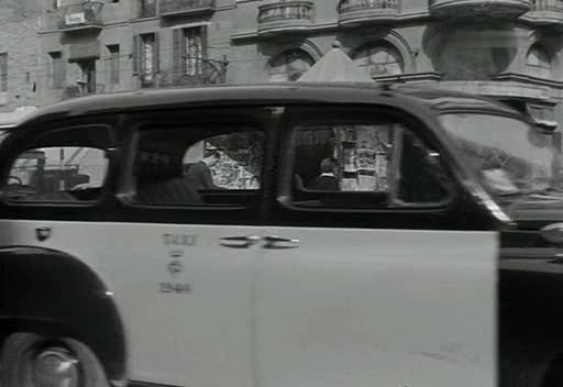 1950 Renault Colorale Taxi in Film