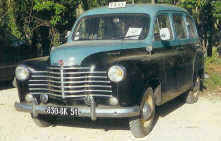 1950 Renault Colorale Taxi