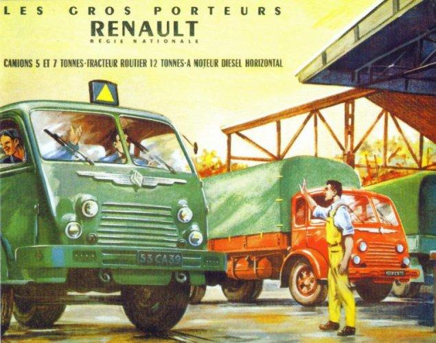 1950 RENAULT faignant