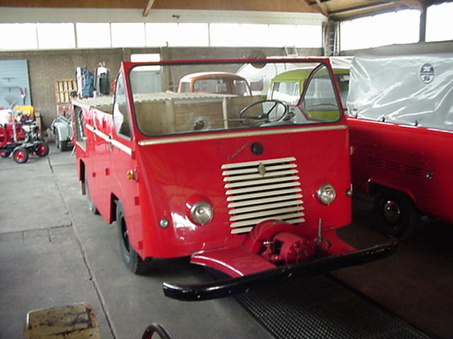 1950 Renault Goelette Nederlandse brandweer