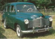 1950 Renault Prairie