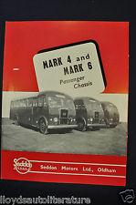 1951-1952 Seddon Diesel Bus Mark 4 & 6