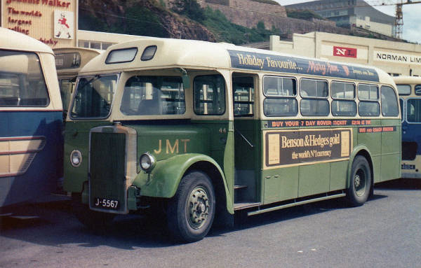 1951 Leyland PS1 with a Reading B34F