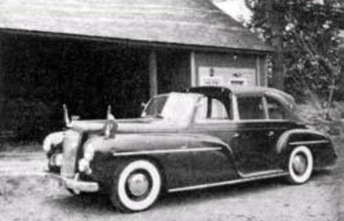 1951 Pennock Austin LWB Sheerline Princess 6-window Convertible Limousine Juliana
