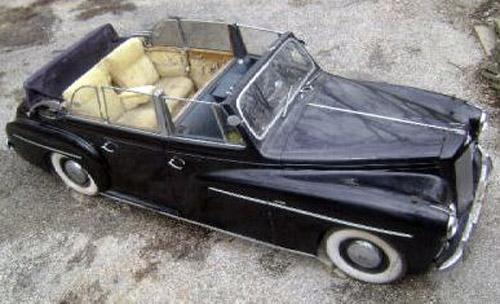 1951 Pennock Austin LWB Sheerline Princess 6-window Convertible Limousine Kon. Juliana