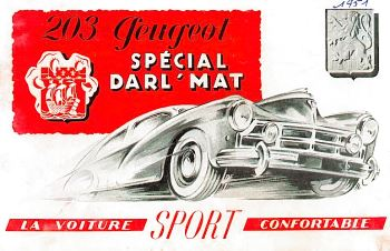 1951 peugeot 203 darl'mat