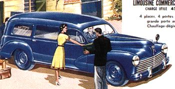 1951 peugeot 203 famile