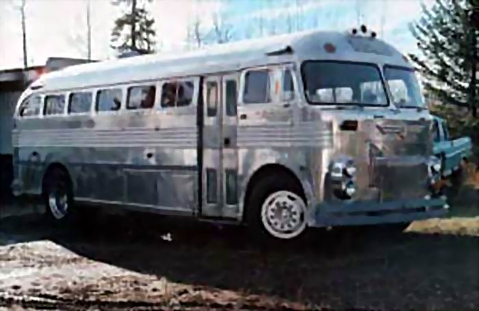 1951 Prevost Panoramique was powered by a 6 cyl Hercule