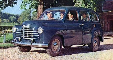 1951 Renault Colorale