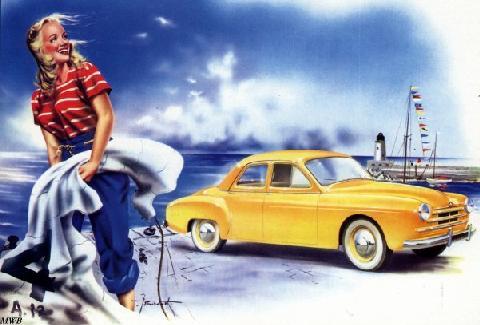 1951 Renault Fregate Brochure 1