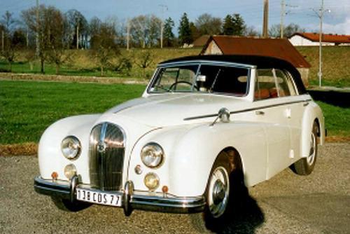 1951 Worblaufen Hotchkiss 20-50 Anjou Cabriolet b