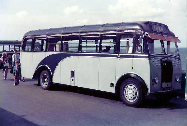 1952 Albion FT39N with Reading B36F body