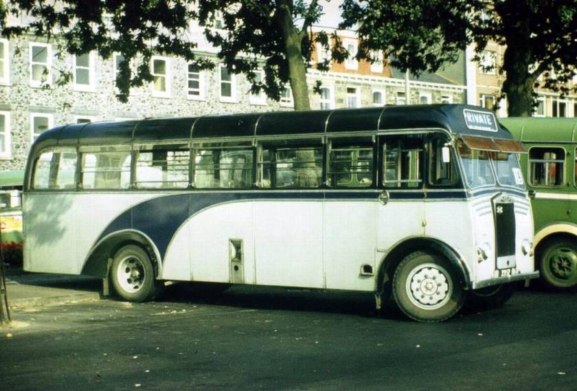1952 Albion Victor FT39N-Reading B36F withdrawn by GR in 1980