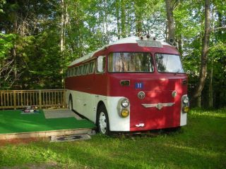 1952 Antique Prevost Bus conversion