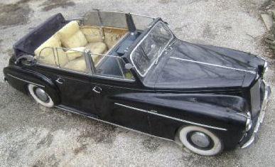 1952 pennock-royal Austin Sheerline Princess b