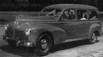 1952 peugeot 203 break