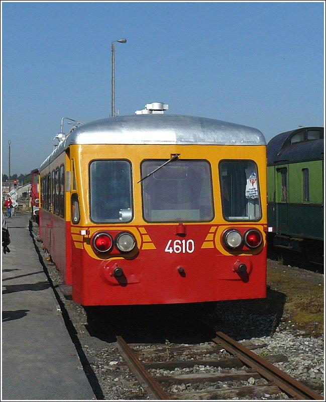 1952 Ragheno der-dieseltriebzug-4610-bj-1952-229061