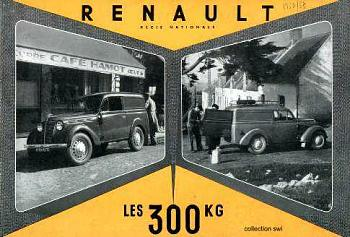 1952 renault 1952 300kg october