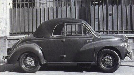 1952 Renault 4CV Labourdette