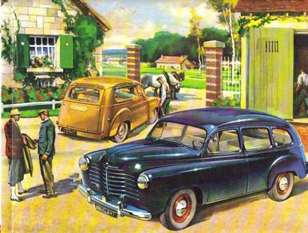 1952 Renault Colorale (1952 – 1957)