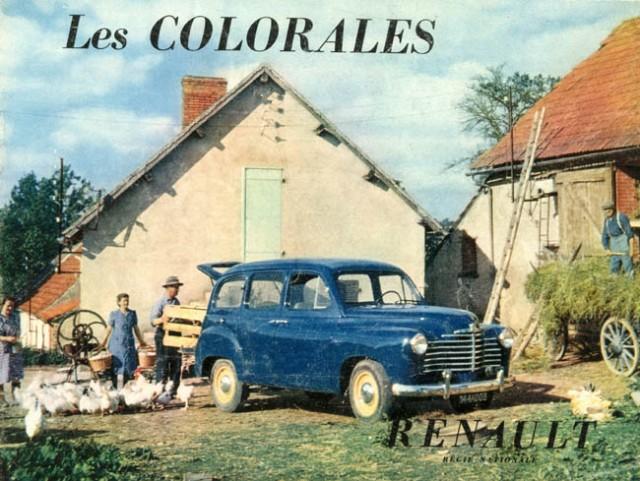 1952 Renault Colorale f