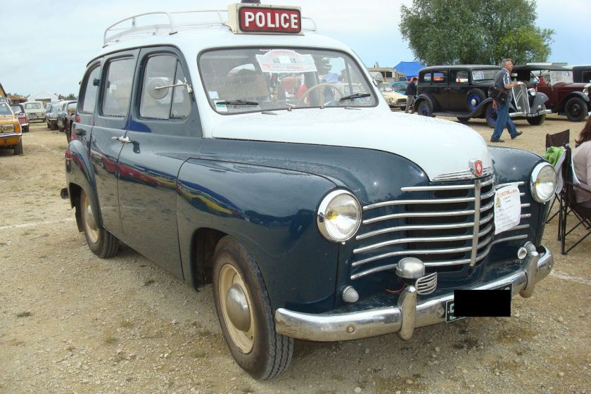 1952 Renault Colorale Police (france)