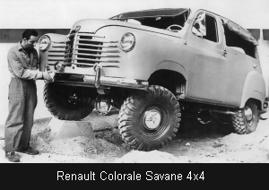 1952 renault colorale savane 4x4