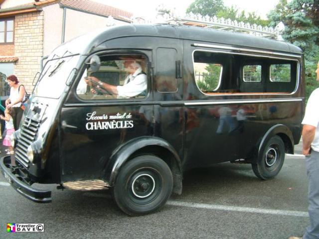 1952 Renault Hearse
