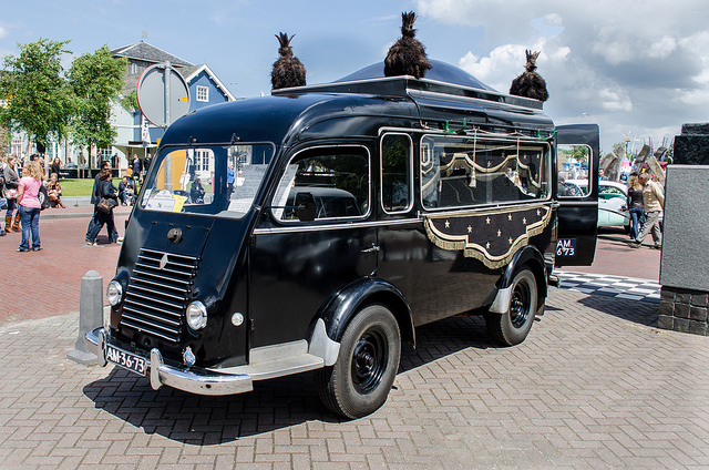 1953 Renault Goelette hearse