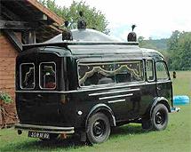 1953 Renault goelette lijkwagen