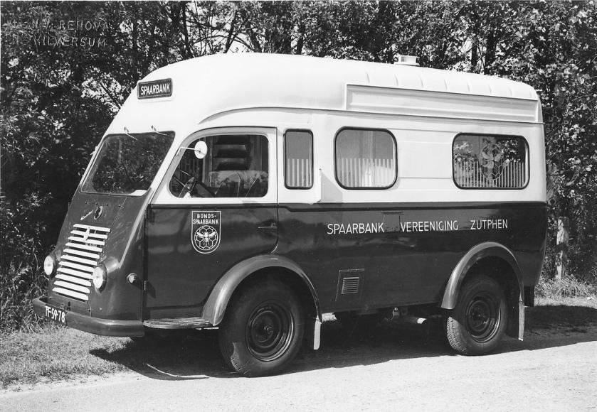1953 Renault Goelette Mobiele Spaarbank