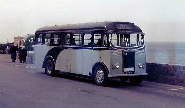 1954 Albion FT39AN with Reading B36F body gu1787