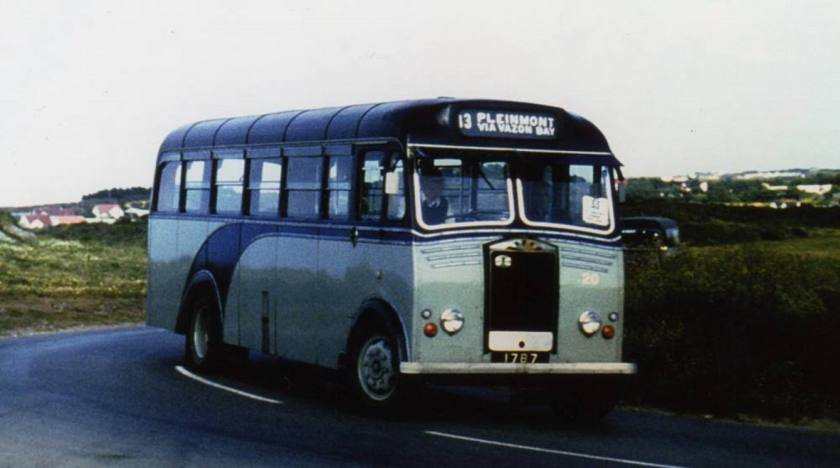 1954 Albion Victor FT39AN with Reading B36F body