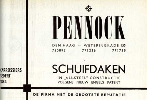 1954 pennock-schuifdak