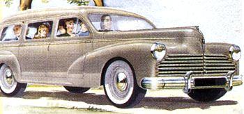 1954 Peugeot 203 familiale