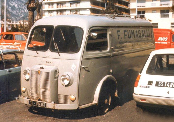 1954 PEUGEOT D4A Tolé