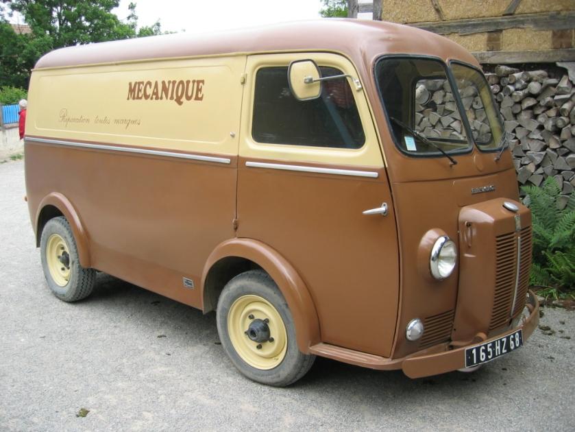 1954 Peugeot D4A