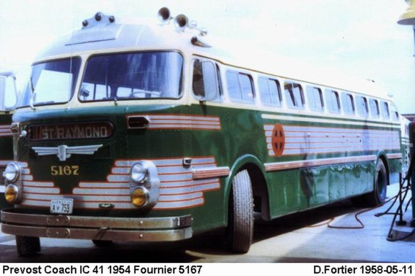 1954 Prevost Coach IC 41
