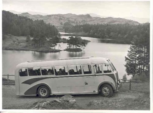 1954 Seddon Cumberland Bus Factory Photo wj7963-VC3GUA
