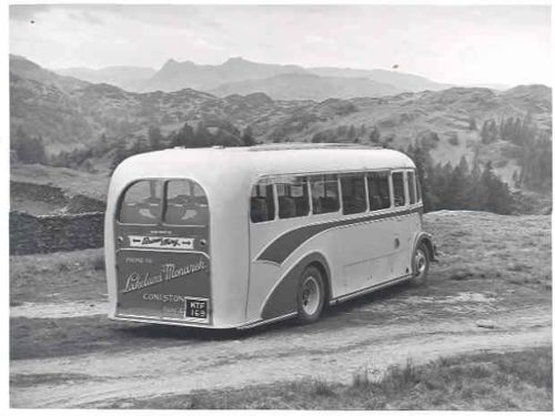 1954 Seddon Cumberland Bus Factory Photo wj7965-EX6F5W