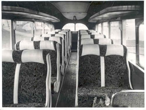 1954 Seddon Cumberland Bus Interior Factory Photo wj7964-SJ9GLJ