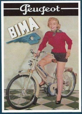 1955 Peugeot Brommer Bima