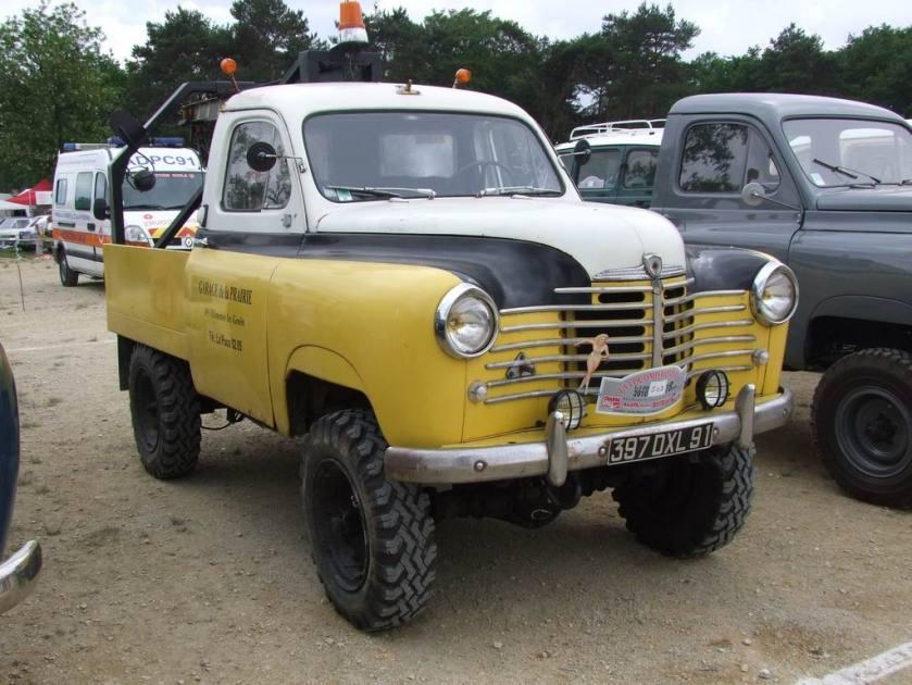 1955 Renault Colorale dépanneuse 4X4