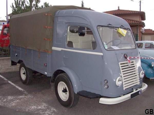 1955 RENAULT goelette R 2066 baché 1400kg