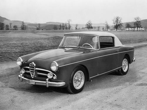 1955 Worblaufen Alfa Romeo 1900 SS Cabriolet a