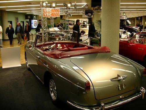 1955 Worblaufen Alfa Romeo 1900 SS Cabriolet b