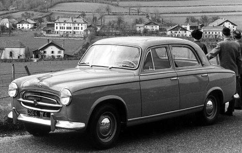 1956 peugeot 403