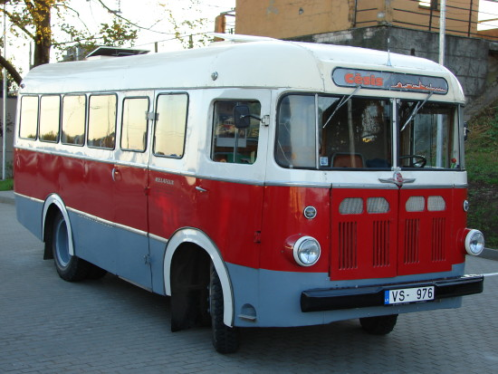 1956 RAF-251. The Riga Autobus Factory