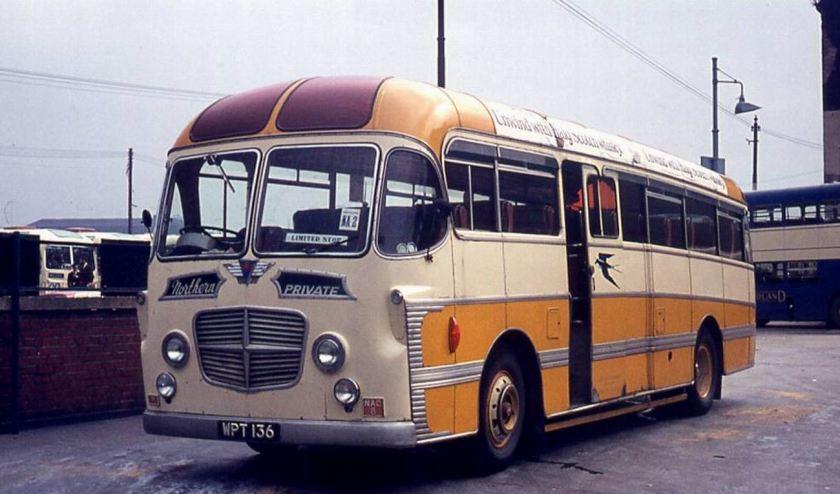 1957 AEC Reliance Plaxton Consort C41C bodied
