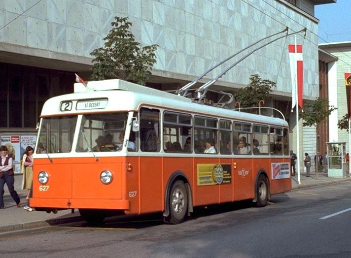 1957 FBW TL627